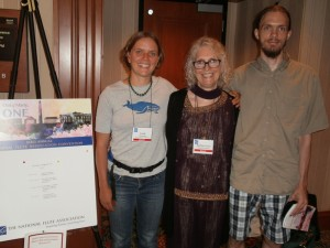 Daughter-Emily, Sora and Son-Dave NFA 2015